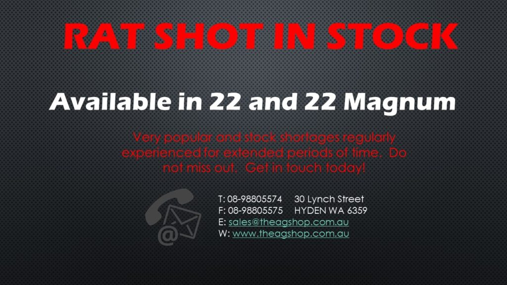rat shot available
