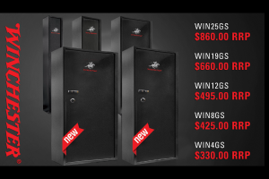 Winchester gun safes in stock now